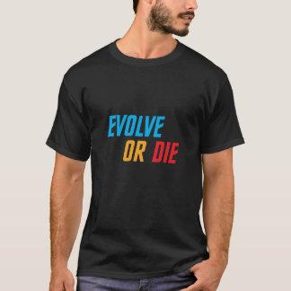 Entwickeln Sie oder die T-Shirt