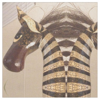 Entworfener Zebra Stoff