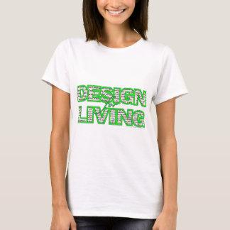 Entwurf für lebendes Damen-T-Stück sobercards.com T-Shirt