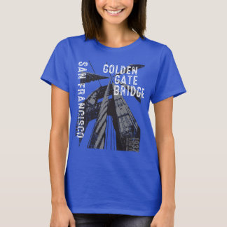 Entwurf Golden gate bridges POV T-Shirt