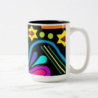 Entwurfs-Kaffeetasse Zweifarbige Tasse