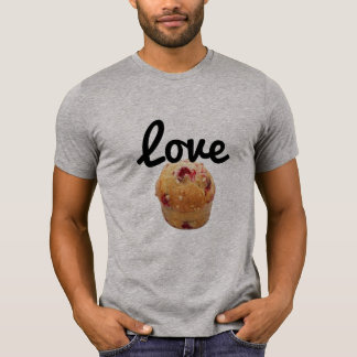 Entwurfs-Liebemuffin T-Shirt des