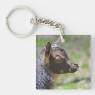Entzückende Baby-Ziege Schlüsselanhänger