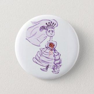Entzückende Braut Runder Button 5,7 Cm