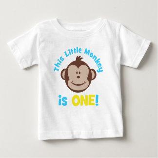 Entzückende kleine Mod-Affe-Jungen-1. Baby T-shirt