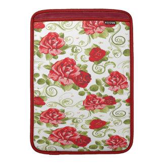 Entzückende nette romantische Vintage Rosen MacBook Air Sleeve