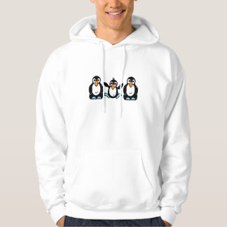Entzückende Pinguin-Freunde Hoodie