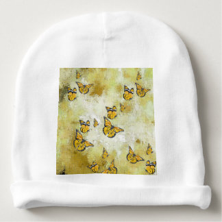 Entzückende Schmetterlinge, gelb Babymütze