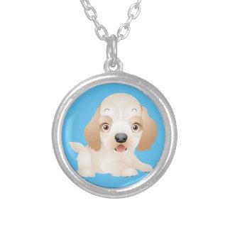 Entzückende Welpen-Hundemehrfache Produkte Versilberte Kette