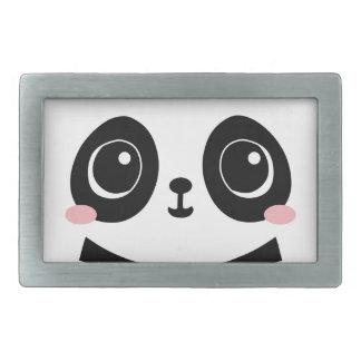 Entzückender Panda Rechteckige Gürtelschnalle