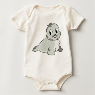 Entzückendes Cartoon-Baby-Siegel Baby Strampler