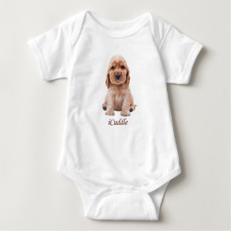 Entzückendes iCuddle Cocker spaniel Baby Strampler