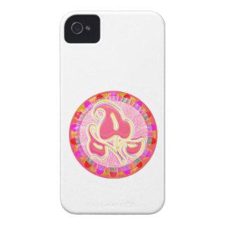 Entzückendes rosa Blatt-Juwel: Blendungs-Grenze Case-Mate iPhone 4 Hüllen