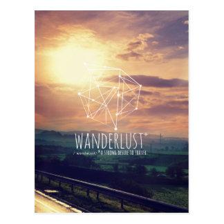 Envie de voyager (collines) : Carte postale