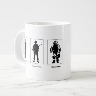 Eod-Ehemann-Ehefrau-Tassenkaffee Jumbo-Tasse