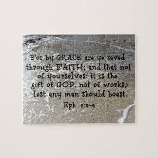 Ephesians 2:8 - 9 für durch Anmut sind YE, das