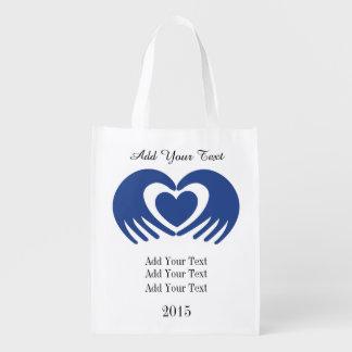 Épicerie de conscience de Cancer, cadeau, sac de Sacs D'épicerie