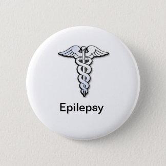 Epilepsie-Abzeichen Runder Button 5,7 Cm