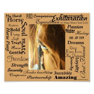 Epische Beschreibung der Pferde Fotos