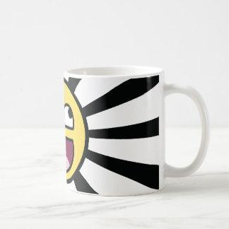 Epischer smiley kaffeetasse