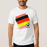 Équipe de football allemande tshirts