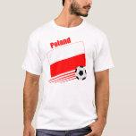 Équipe de football polonaise t-shirts