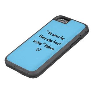 """Er interessiert sich"" Iphone 6/6S Handy-Abdeckung Tough Xtreme iPhone 6 Hülle"