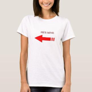 Er ist Bergwerk-Shirt T-Shirt