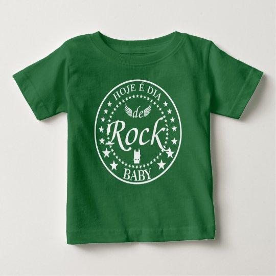 Er ist heute Tag des Klassischen Rocks Baby T-shirt