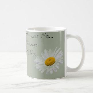 Er Lieben ich, er Lieben ich nicht Kaffeetasse