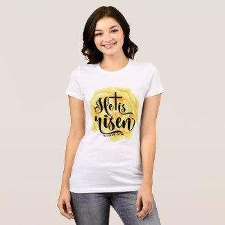 Er wird - gelbe Rose gestiegen T-Shirt
