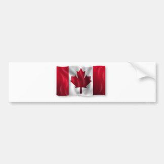 Érable canadien de feuille d'emblème de pays de dr autocollant pour voiture
