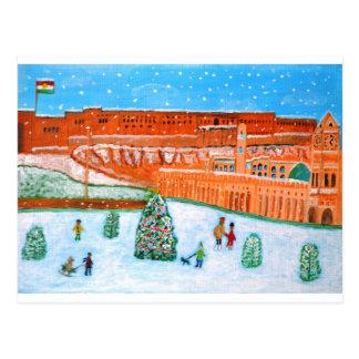 Erbil Zitadelle Chistmas.JPG Postkarte