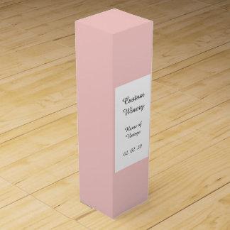 Erblassen Sie - den rosa gefärbten Klassiker Wein-Geschenkverpackung