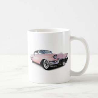 Erblassen Sie - rosa Cadillac Kaffeetasse
