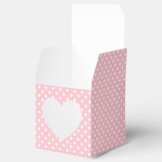 Erblassen Sie - rosa und weißen Geschenkkarton