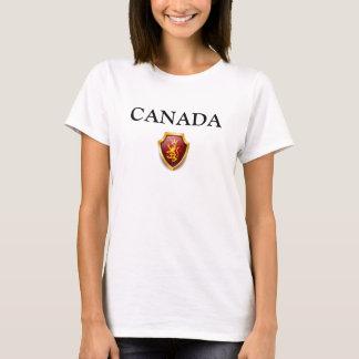 Erblinien Spitzen-KANADA-Vorbereitung W T-Shirt