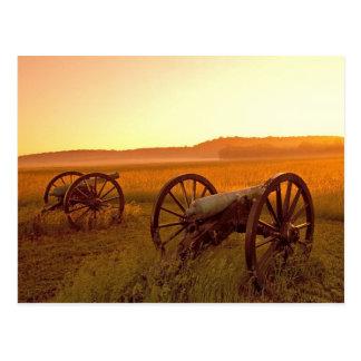 Erbsen-Ridgenationaler Militärpark Arkansas Postkarte
