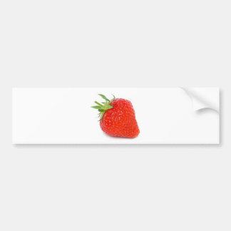 Erdbeere Autoaufkleber