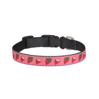 ErdbeerHundehalsband Haustierhalsbänder