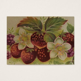 Erdbeermarmelade Visitenkarte