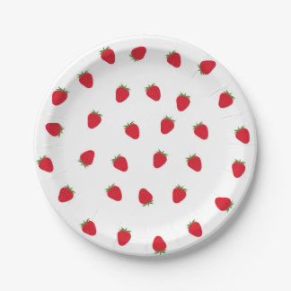 ErdbeerpapierTeller Pappteller