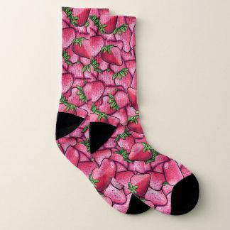 Erdbeersocken Socken