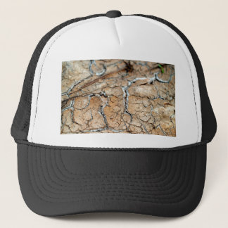Erde des trockenen Bodens/des Sprunges Truckerkappe