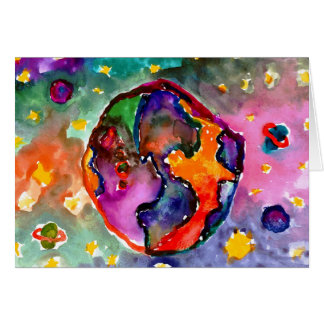 Erde durch Alicia Hanson, Alter 10 Karte