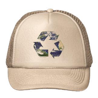 Erde - recycelnd netz caps