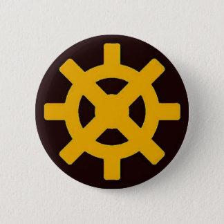 Erdflug Runder Button 5,7 Cm