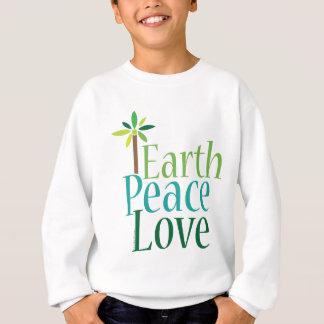 ErdfriedensLiebe-Erdtagesgeschenke Sweatshirt