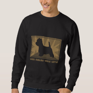 Erdiges Westie Sweatshirt