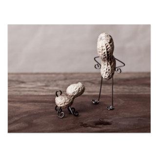 Erdnuss-Mann und Hund Postkarten